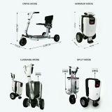 라이트급 선수 3 바퀴 세륨을%s 가진 전기 Foldable 스쿠터 휠체어