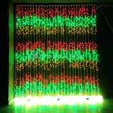 Im Freien Weihnachtsvorhang-Wasserfall-Lichter der Vorhang-Beleuchtung-LED