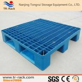 haltbare Ineinander greifen-Oberflächen-Plastikladeplatte des Eintrag-4-Way für Ladeplatten-Racking