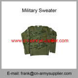 卸し売り安い中国軍のデジタルのカムフラージュの軍隊のウールの警察のセーター
