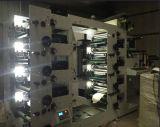 박판을%s 가진 기계를 인쇄하는 Flexo를 레테르를 붙이거나 시트를 깔거나 찬 포일 사라지십시오