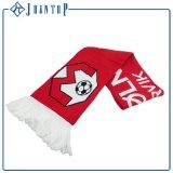 昇華印刷昇進の編まれたファブリックカスタムフットボールのファンのスカーフ