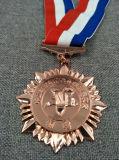 Medaglia del metallo di sport del ricordo con il nastro