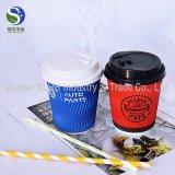 Кофейные чашки высокого качества напечатанные логосом устранимые бумажные