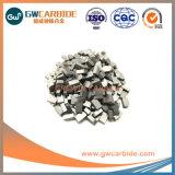 Pointes de carbure de tungstène pour couper du métal