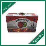 De Verpakkende Doos van de douane voor Vruchten met Handvat