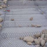 Engranzamento de fio Gabions da cesta da rocha