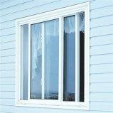 Окно термально пролома алюминиевое сползая с сетью москита