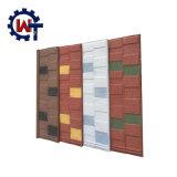 Precios revestidos de los azulejos de azotea del metal de la piedra española