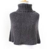Кардиган свитера шарфа женщин оборачивает связанную зимой шаль плащпалаты (SP606)