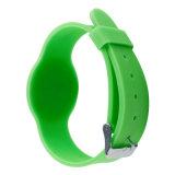 Wristband del Hf RFID del silicón de Individuelle en hospital