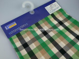 Nylon hilado de algodón con Spandex teñido Fabric-Lz7408