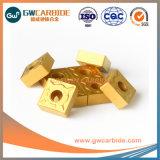 固体炭化物CNCのIndexable回転挿入CVDのコーティング