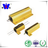 Golden Aluminum House Wirewound Fixed Resistor