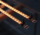 印刷のための対の管の中型波の赤外線ランプ