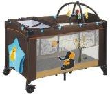 Novo design do bebê Dobrável Portátil do parque do bebé Norma Europeia berço de viagem
