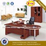 Tableau moderne L bureau exécutif en verre de forme (HX-2801)