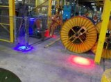 産業クレーン安全のための天井クレーンアラームライトLED警報灯