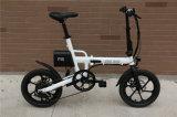 16 дюймов складывая электрический велосипед с скоростью Shimano 6