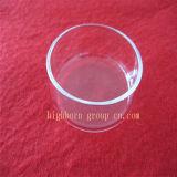 Claro la forma circular placas de Petri de cristal de cuarzo.