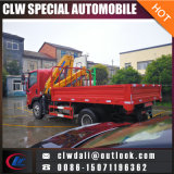 12 toneladas China Mobile acarrean la grúa montada