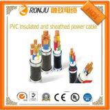 VDE, SAA, certifiées UL Type d'un seul niveau de meilleure qualité sur le fil de tressage de fil électrique Fils et câbles