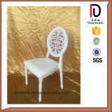De nieuwe Stoel van het Huwelijk van het Ontwerp Bevallige Comfortabele Witte Ronde Achter
