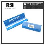 Los papeles de rodadura personalizado Premium blanqueada 69*36mm