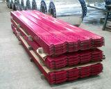 Prepainted 665-1070mm de largura da folha do telhado galvanizado com preço de fábrica