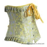 Alta cintura del recorte de la cintura de los corsés occidentales mas pechugones occidentales que forma el corsé