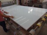 30mmの水晶平板の純粋で白い水晶石シート、水晶石(180103)