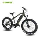 AMSTde 08bトルクセンサーが付いている中間駆動機構の脂肪質のタイヤの電気バイク