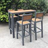 Côté Patio Eco-Wood Pool Bar extérieur Table à hauteur fixe