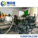 PP HDPE LLDPE 세척하는 병에 의하여 길쌈되는 부대 Agricultrual 필름 플라스틱 작은 알모양으로 하기 기계 재생