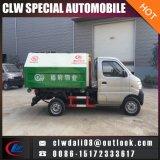 camion d'ordures de levage du crochet 3cbm avec la traction de bras de Chine