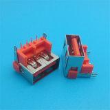 Schöner Farben-Rot 2.0 Verbinder USB-Jack