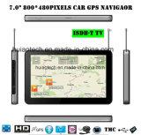 """Auto-LKW ODM-ISDB-TV 7.0 """" Marine-GPS-Navigation mit FM Übermittler, Handels-in der hinteren Kamera, Hand-GPS-Navigationsanlage, Bluetooth für Handy, TMC-Verfolger"""