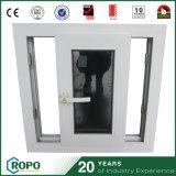 Guichet et porte en verre coulissants horizontaux de glisseur teintés par Windows de PVC