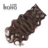 Klem van 18 Duim van het Menselijke Haar van Remy de Kroezige Krullende in de Uitbreiding van het Haar