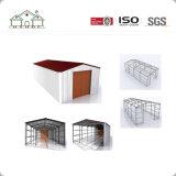 Pequeño almacén de almacenaje prefabricado de la estructura de acero