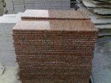 Preiswertestes Stein-Ahornblatt-rote Granit-Jobstepp-Eitelkeits-Oberseite-u. des Granit-G562 Wandverkleidung
