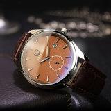 Reloj impermeable del asunto del reloj del calendario del reloj de los hombres de Yazole de la manera H306 para los hombres