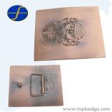Inarcamento di cinghia decorativo su ordinazione del metallo del legha d'oro di figura 3D (FTBB2804A)