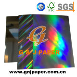 서류상 스티커 장에 고품질 인쇄 홀로그램