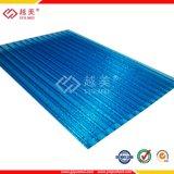 Высокое качество поликарбоната полой листов ПК солнечных лучей в мастерской