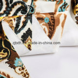 Polyester-druckte preiswertes Samt-Gewebe für Kissen
