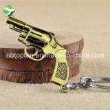 공장 가격 최신 유행스타일 전자총 모양 열쇠 고리 Keychain