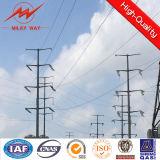 Pequeño acero modificado para requisitos particulares poste de la transmisión de la electricidad