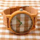 Het Embleem Hoge End&#160 van de douane; Houten Wrist Horloge