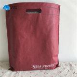 Het winkelen Geweven Zak van Giftbags van Handtassen de niet met het Handvat van de Besnoeiing van de Matrijs van D